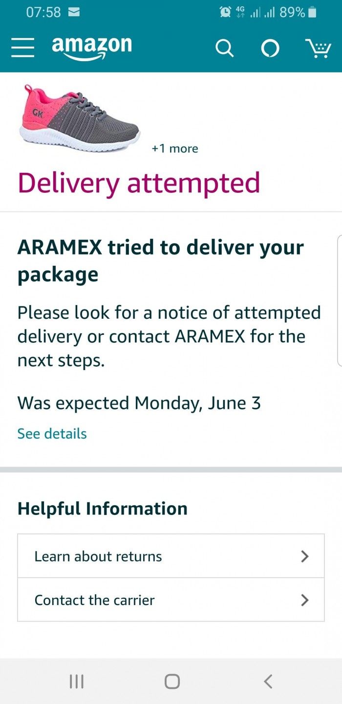 Delivery Issues Photo